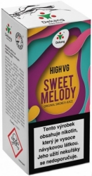 Liquid Dekang High VG Sweet Melody 10ml - (Broskev s citrónem)