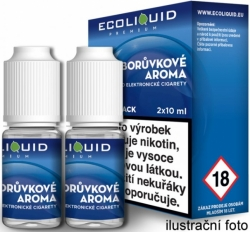 Liquid Ecoliquid Premium 2Pack Blueberry 2x10ml