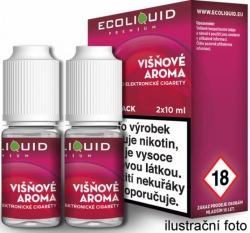 Liquid Ecoliquid Premium 2Pack Cherry 2x10ml
