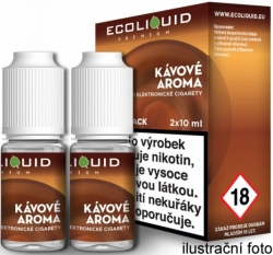 Liquid Ecoliquid Premium 2Pack Coffee 2x10ml
