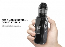 OBS Cube 80W Grip 3000mAh Full Kit Gun Metal