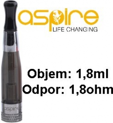 aSpire CE5 BDC Clearomizer 1,8ohm 1,8ml Black