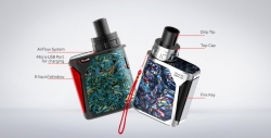 Grip Smoktech Priv One 920mAh Blue Mother of Pearl Paper