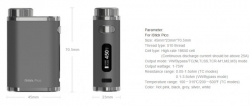 iSmoka-Eleaf iStick Pico TC 75W full Black Bronze