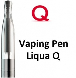 Liqua Q Vaping Pen clearomizer 1,8ohm 2ml Black