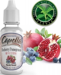 Příchuť Capella 13ml Blueberry Pomegranate with Stevia
