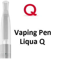 Liqua Q Vaping Pen clearomizer 1,8ohm 2ml Clear