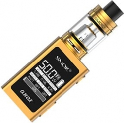 Smoktech QBOX TC 50W Grip Full Kit Gold